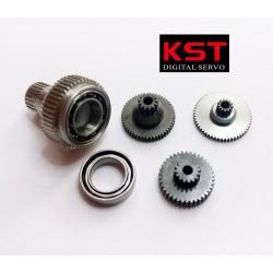 Set de pignons servos KST BLS505/DS589/X15-908/X15-1208/MS589/BLS565/MS565