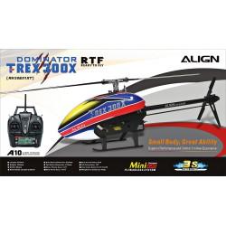 Hélicoptère Align T-Rex 300X Dominator Super Combo - RTF (RH30E01X)
