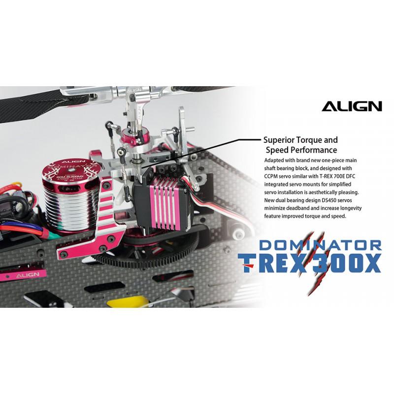 H30H007XXT Align T-Rex 300X rotor principal Titulaire