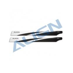 470 Carbon Fiber Blades - Align HD470A