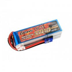 GENS ACE 3700 mAh 6S1P 60C Lipo battery soft pack