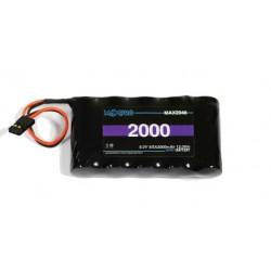 Batterie Maxpro NiMh 6V 2000 mAh