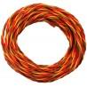 Câble servo PVC JR 0,50mm²