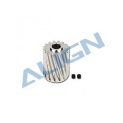 Align T-REX 550/650X rc heli motor pinion helical gear 16T (H55G003XX)