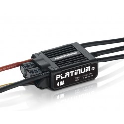 Contrôleur brushless Hobbywing Platinum 40A V4 BEC 7A (3-4S)