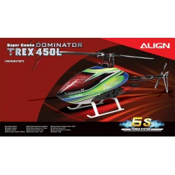 kit hélicoptère radio commandé Align T-REX 450L Dominator Combo (6S) (RH45E23X)