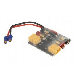 Output distributor for power supplies with EC3 plug