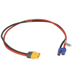 Power supply connection cable for iSDT SP2417/SP2425 - EC3 female to XT60 female - 40cm
