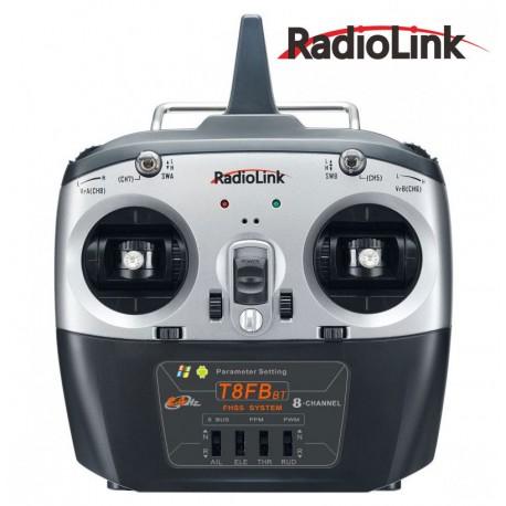 Radiolink T8FB BT Radiocommande 8 voies avec récepteur R8EF (Mode 2)