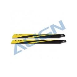 Pales fibre de carbone 700N - Align HD700C