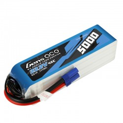GENS ACE 5000 mAh 6S1P 45C LiPo battery for 550/600/700 rc helicopter