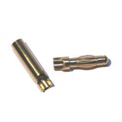 4 mm gold plated connector (SQ)