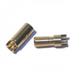 Connecteur 5,5 mm plaqué or qualité standard - Helistore