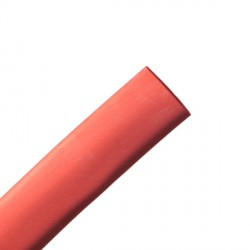 Gaine thermorétractable 9,5/4,8 mm rouge (1m)