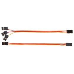 Câbles MICROBEAST pour récepteur - 15cm (BXA76006)