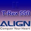 Align T-Rex 550 parts