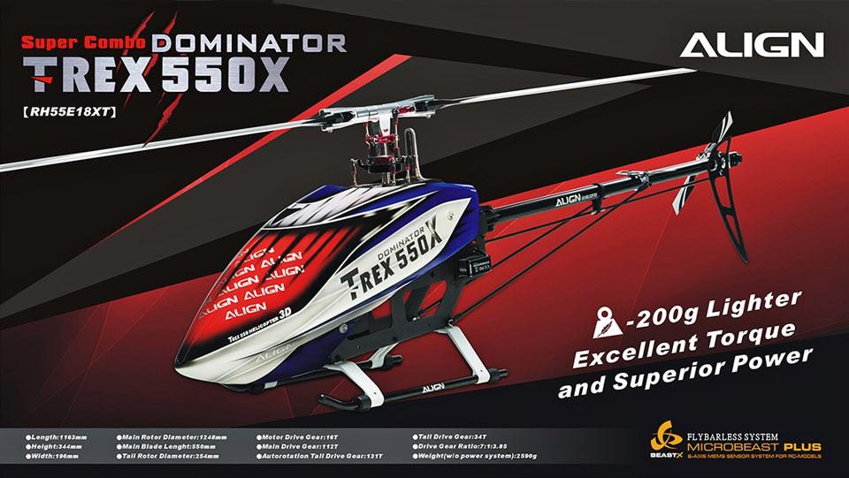 T-REX550X